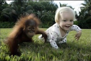 Funny Kids With Animals