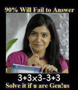 90% Will Fail To Answer Solve It If U Are Gen!us