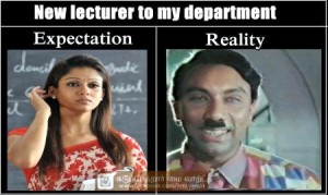 New Lecturer To My Department Expectation Reality