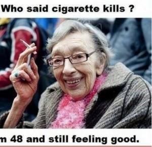 Who Said Cigarette Kills?