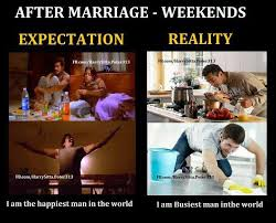 After Marriage Weekends Expectation Reality