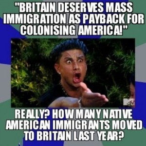 Really Britain Deserves Mass Immigration Payback For Colonis Politics