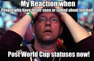 My Reaction When People Who Never Seen About Football