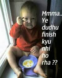 Funny Babies With Comments In Hindi