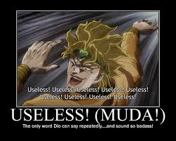 Useless ! Comment In English