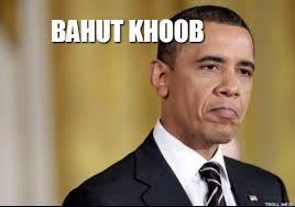 Obama - Bahut Khoob
