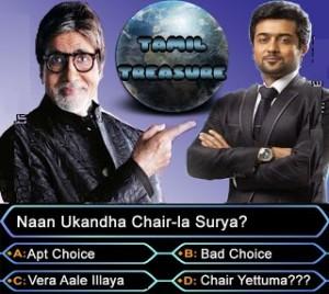 Amitabh Bachchan - Nan Ukandha Chair-la Surya?