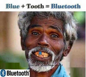 Funny Bluetooth Man