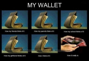 My Wallet Funny Photo