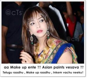 Make Up Overdose- Lakshmi Manchu