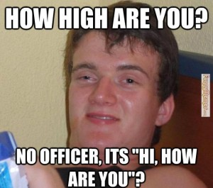 How High Are You? Funny Picture