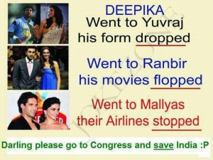 Darling Please Go To Congress And Save India?