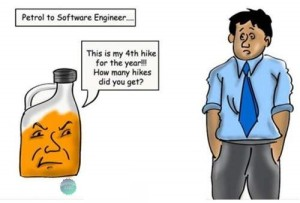 Petrol To Software Enineer.... Funny Comment