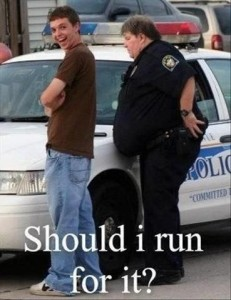 Should I Run For It? Funny Photo Pic