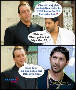 Funny Munna Bhai And Circuit Jokes Pictures