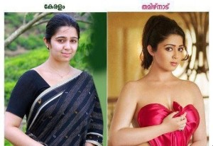 Charmi In Kerala vs Tamil Nadu