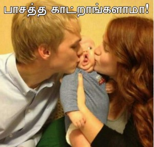Affection Funny Photo Comment