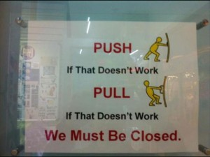 Funny English Signs