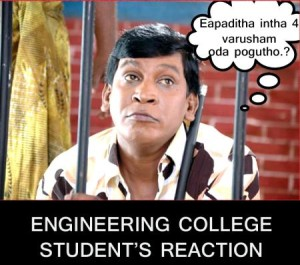 Engineering College Student's Reaction-Vadivelu