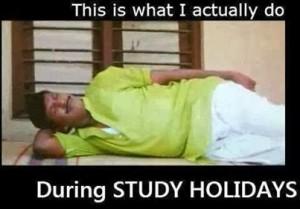 During Study Holidays- Vadivelu Reaction