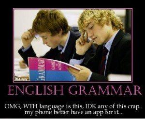 English Grammar Poster Comment
