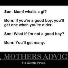 Mother's Advice Joke Pic