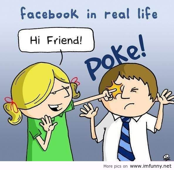 Facebook In Real Life