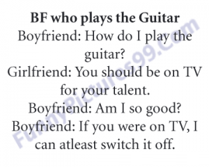 3-BF Who Plays The Guitar Funny Pic