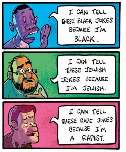 I Can Tell These Black Jokes Because I'm Black