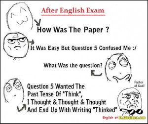 After English Exam How Was The Paper?