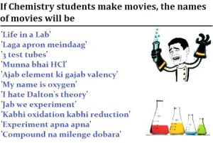 If Chemistry Students Make Movies