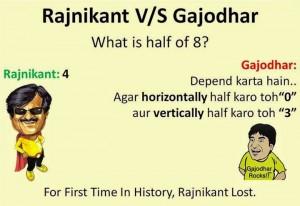 Rajnikanth vs Gajodhar Jokes