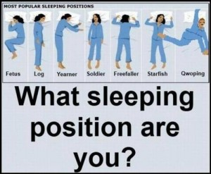 What Sleeping Position Are You?
