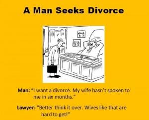 A Man Seeks Divorce