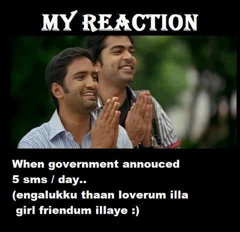 Reaction Of Simbu and Santhanam