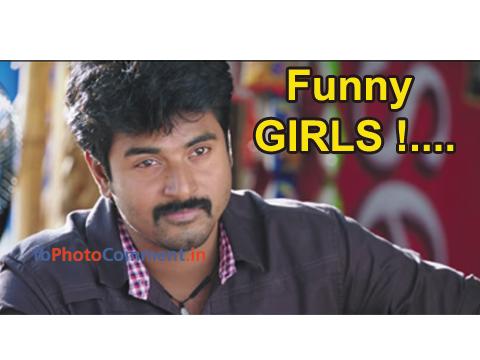 Sivakarthikeyan Says Funny Girls!...