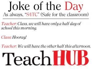 Teacher Joke Of The Day
