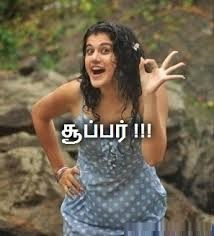 Taapsee Says Super!!!