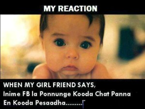 My Reaction When My Girl Friend Says
