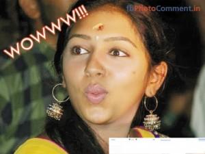Wowwww!!! Lakshmi Menon Comment