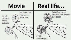 Movie vs Real Life Comment Image