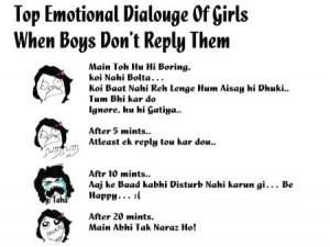 Top Emotional Dialouge Of Girls