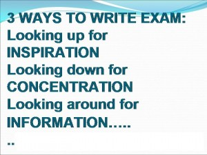 3 Ways To Write Exam