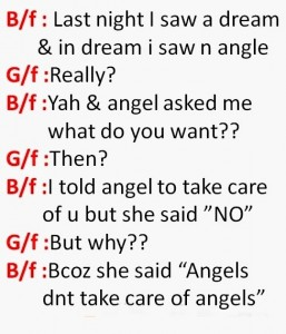 Jokes On Boyfriend and Girlfriend
