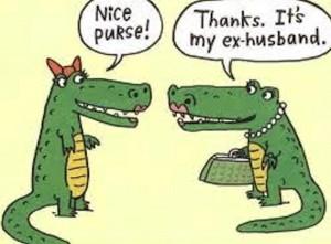 Nice Purse! It's My Ex-Husband