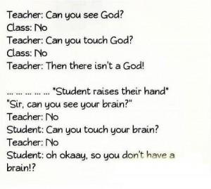Teacher and Student Jokes In English