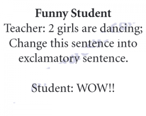 Funny Student Joke
