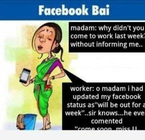 Facebook Bai Joke Picture