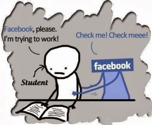 Facebook Please I'm Trying To Work!