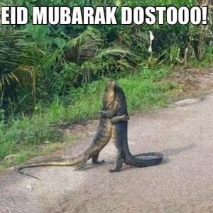 Eid Mubarak Dostoooo!!